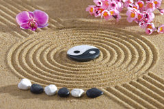 Japan zen garden Royalty Free Stock Photos