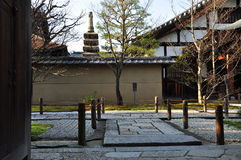 Japan zen temple garden Stock Photography