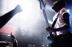 Japandroids zespół wykonuje przy San Miguel Primavera dźwięka festiwalem Obrazy Stock