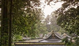 Japanease oude traditionele daken stock foto's