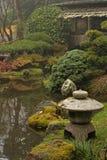 Japaneese庭院 免版税库存图片