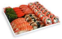 Japaneese cuisine meal sushi. Traditional japaneese cuisine meal sushi Royalty Free Stock Image