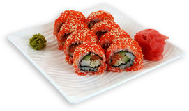 Japaneese cuisine meal sushi. Traditional japaneese cuisine meal sushi Royalty Free Stock Photography