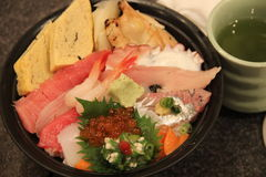 Japaneese jedzenie Obraz Royalty Free