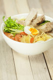 Japaneese noodle soup Stock Images