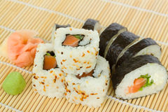 Japaneese roll Stock Photography