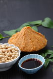 Japaneese traditionell sojaböna bearbetade foods Arkivbild