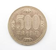 Japanen myntar Royaltyfri Bild
