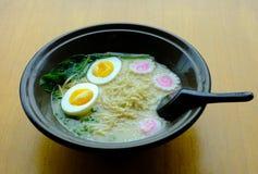 japanen ramen Fotografering för Bildbyråer