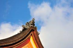 Japanen taklägger Royaltyfri Foto