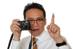 Japaner beim Nehmen der Fotos Lizenzfreies Stockfoto