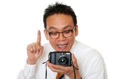 Japaner beim Nehmen der Fotos Stockfotos