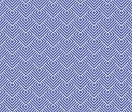 Japaner bewegen Kreismuster bue und weißen Hintergrund wellenartig Lizenzfreie Stockbilder