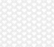Japaner bewegen quadratischen grauen und weißen Hintergrund des Musters wellenartig Lizenzfreie Stockbilder