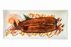 Japaner grillte Aal mit teriyaki Soße, unagi Lizenzfreies Stockbild