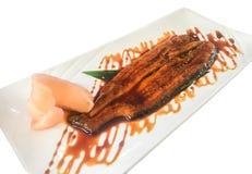 Japaner grillte Aal mit teriyaki Soße, unagi Stockfoto