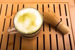 Japaner Matcha-Tee lizenzfreie stockbilder