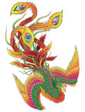 Japaner Phoenix Lizenzfreie Stockfotografie