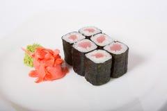 Japaner rollt mit Thunfisch Lizenzfreies Stockfoto