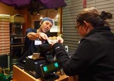 Japanes Ramen Shopkeeper Royalty Free Stock Photography