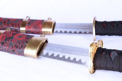 Japanes swords Stock Photo