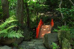 Japanes Traditional Garden Stock Photography