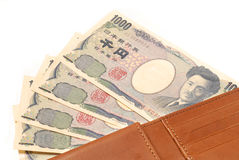 Japanese 1000 Yen Stock Photo