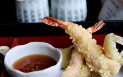 Japanese. Traditional food and culinary accessories Royalty Free Stock Photography