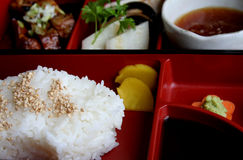 Japanese. Traditional food and culinary accessories Stock Photography