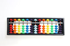 Japanese abacus. Calculation board(soroban Royalty Free Stock Photography