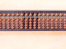 Japanese abacus called Soroban Stock Images