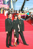 Japanese actors at Moscow Film Festival Stock Image