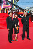 Japanese actors at Moscow Film Festival Royalty Free Stock Image