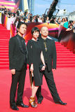 Japanese actors at Moscow Film Festival Stock Photo