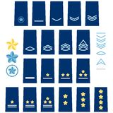 Japanese Air Force insignia Stock Image