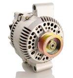 Japanese alternator. Generic electric automotive alternator isolated royalty free stock image