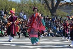 Japanese Ambassador - Cherry Blossoms Festival Stock Images
