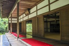 Japanese ancient house Stock Photography
