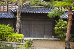 Japanese ancient house Stock Photos