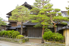 Japanese ancient house Royalty Free Stock Image