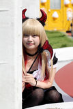 Japanese anime character cosplay girl Stock Photo