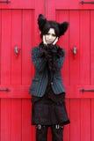 Japanese anime character cosplay girl Stock Photography