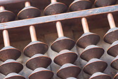 Japanese antique abacus Stock Photography