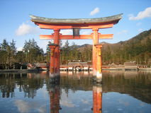 Japanese arch Stock Photo
