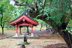 Japanese architecture and garden Stock Images