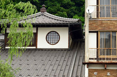 Japanese architecture Royalty Free Stock Image