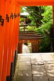 Japanese Archways Stock Photo