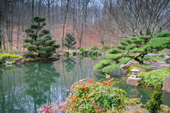 Japanese Area of Gibbs Gardens Georgia Royalty Free Stock Image