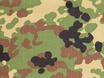 Japanese armed force flecktarn camouflage fabric Stock Photos
