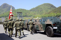 Japanese armored vehicle Stock Photo